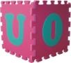 ABCD FM929 puzzle , 26ks Flip Flop pěnové spojovatelné desky, síla 1,4cm -