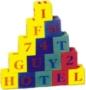 Kostky FM924 abeceda+čísla EVA pěna -
