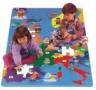 Mapa Evropy PN 190P puzzle z pěny -