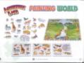 TM006-J Dobrodružná země puzzle skládačka -