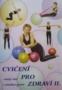 Publikace s ukázkami cviků - malý míč -